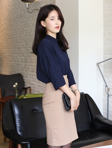Jasmin blouse (3color) 원단굿!