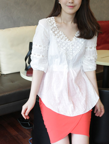 Luv blouse 6차재입고